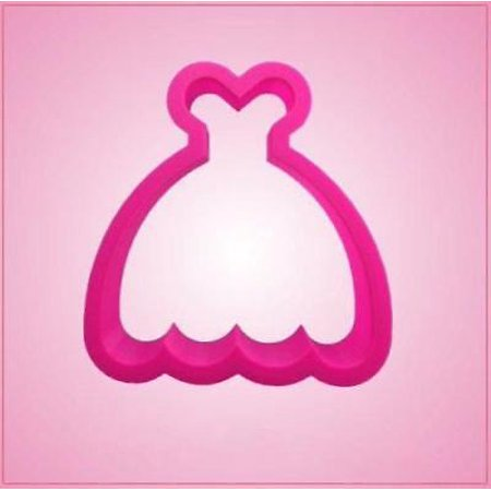 Pink Hula Dress Cookie Cutter - Poofy Dresses Cheap