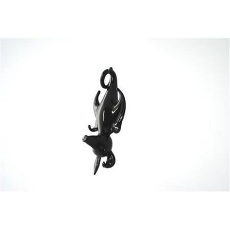 Blown Glass Hanging - Wgk 3625 Hanging Hand Blown Glass Figurine Sleeping Bat
