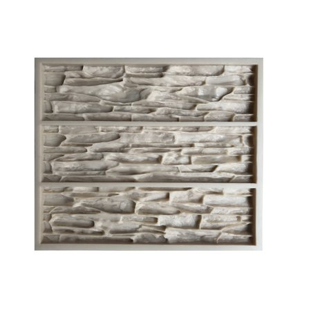 Concrete Mold Concrete Wall Stone Mold VS 701/3. Concrete Veneer Mold, (Stone Veneer Siding)