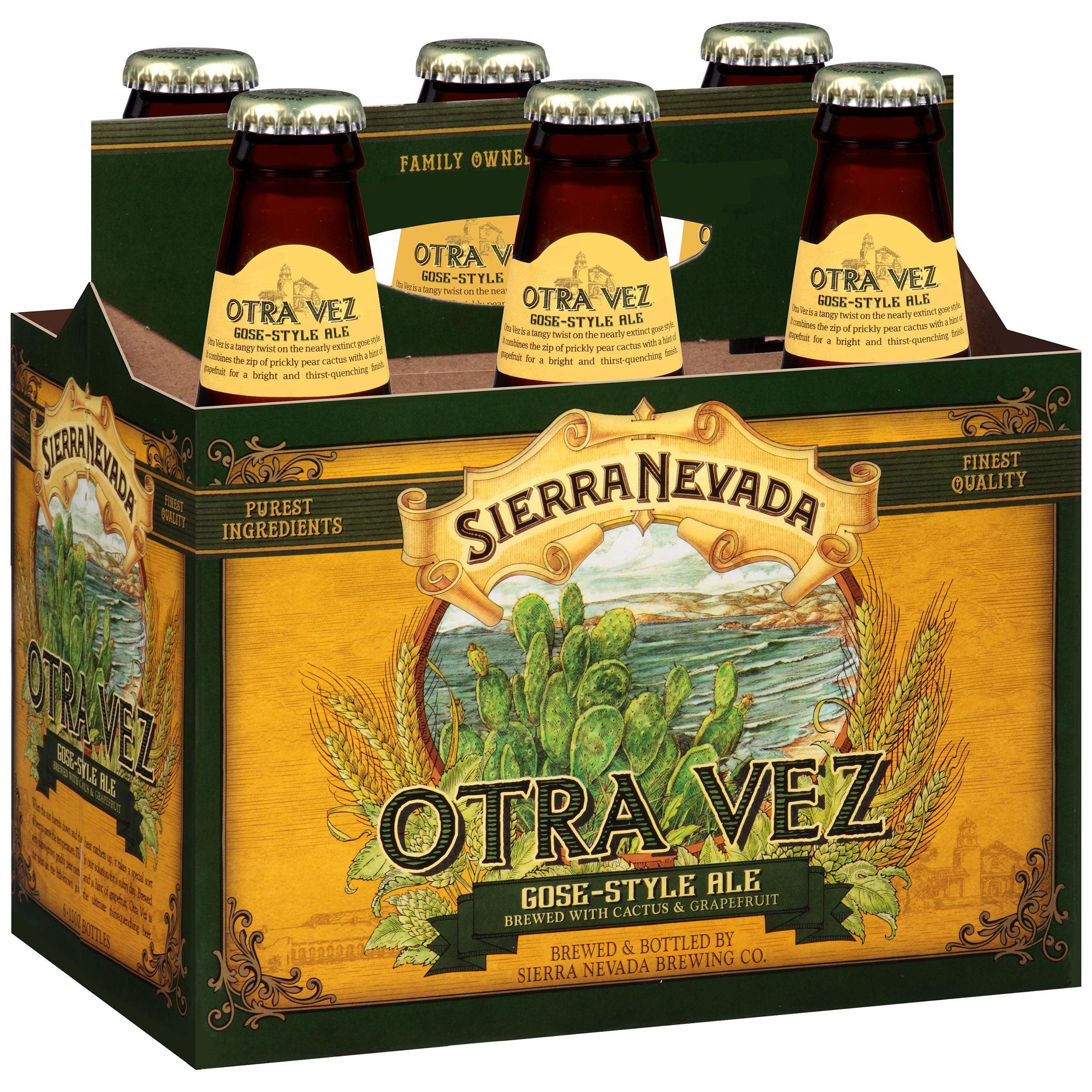 Sierra Nevada Otra Vez Gose-Style Ale, 6 pack, 12 fl oz