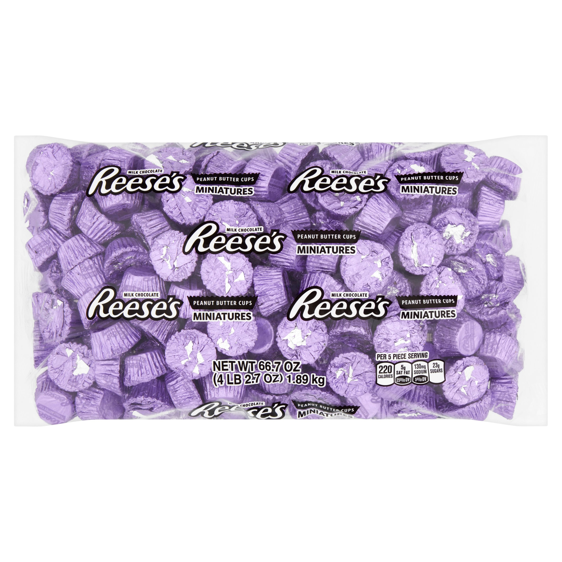 Reese's, Miniatures Purple, 66.7 oz - Online Only