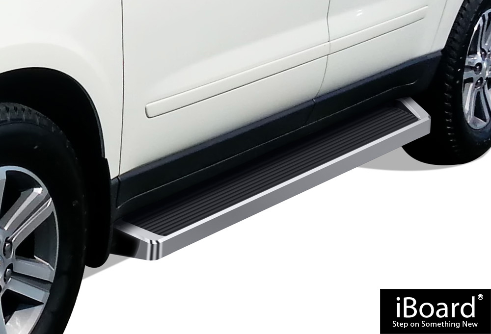 Premium Side Step Running Boards Custom Fit Traverse//Acadia//Outlook//Enclave