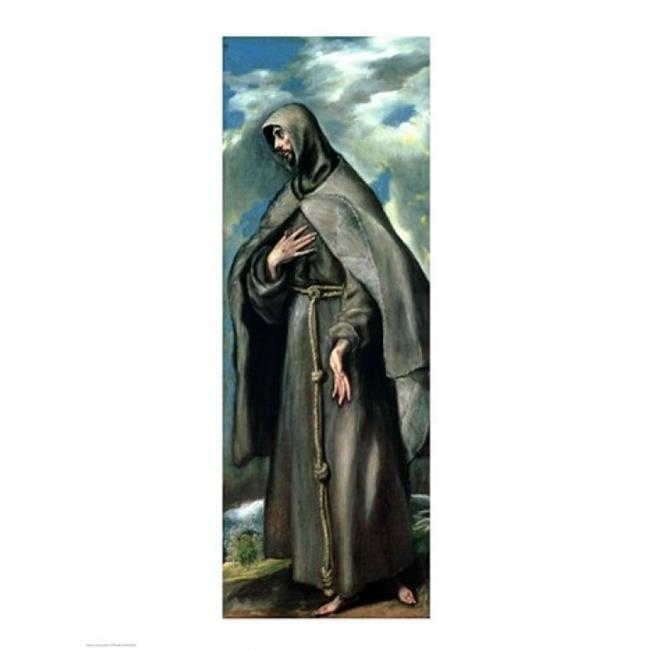 Posterazzi BALXJL86549 St.Francis of Assisi Poster Print by El Greco - 18 x 24 in. - image 1 de 1