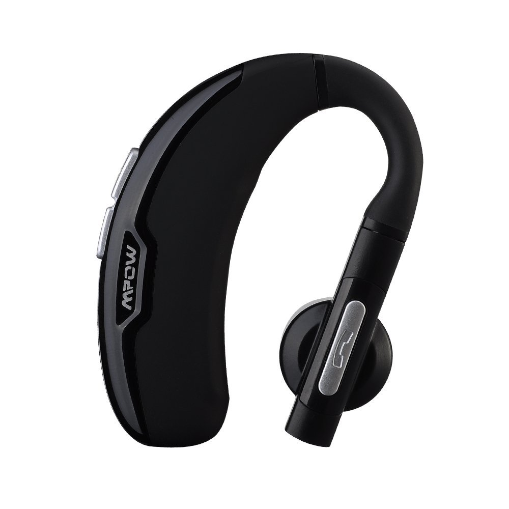 Mpow FreeGo Wireless Bluetooth 4.0 Headset Headphones with Clear Voice Capture Technology and Echo Cancellation for iPhone 6s