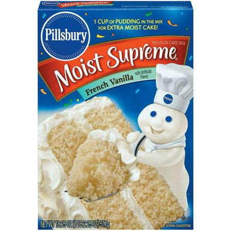 Vanilla Cake Mix Pillsbury