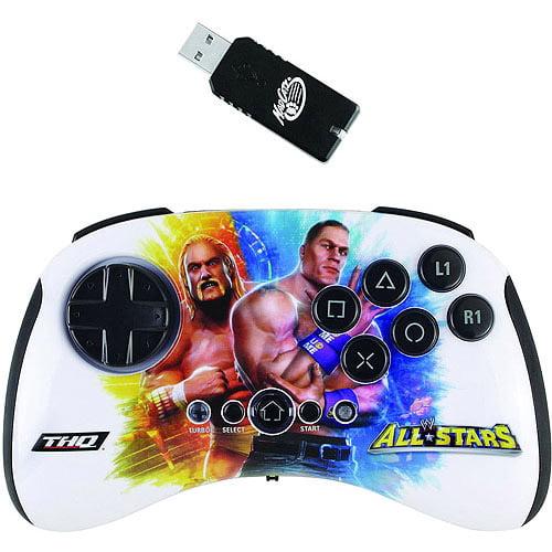 Mad Catz WWE All Stars BrawlPad for PlayStation 3, Hulk Hogan vs John Cena