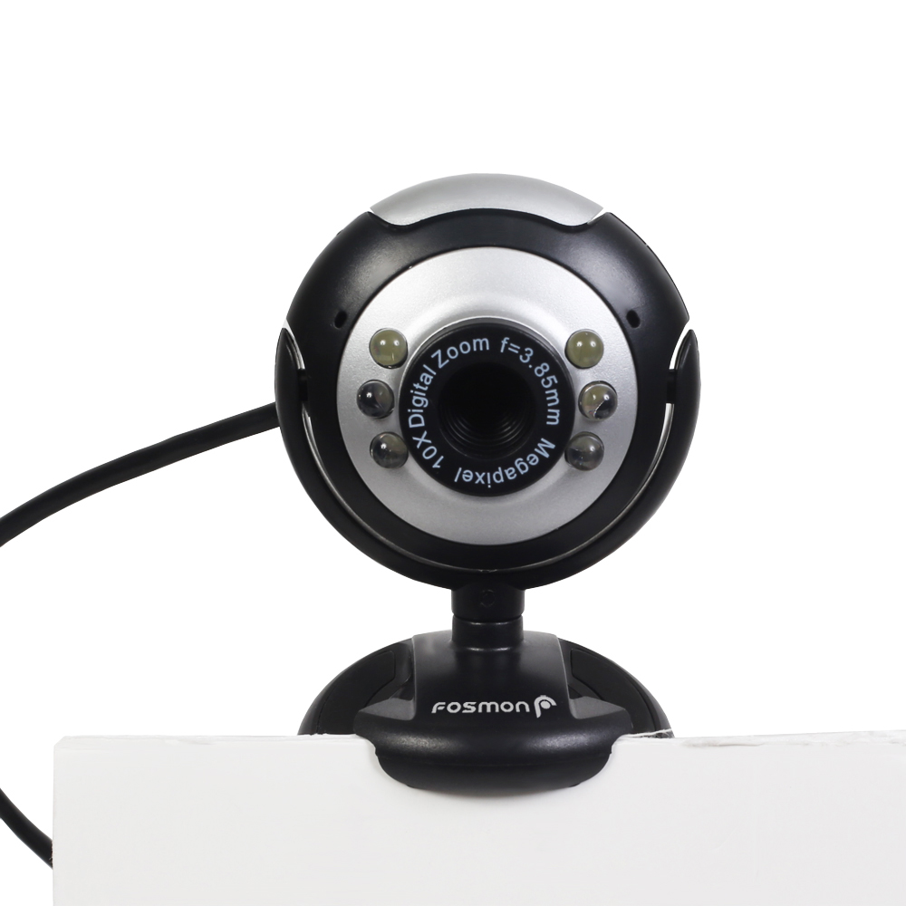 6 LED USB PC Webcam Web Camera + Night Vision for Desktop PC la pt op Notebook NEW
