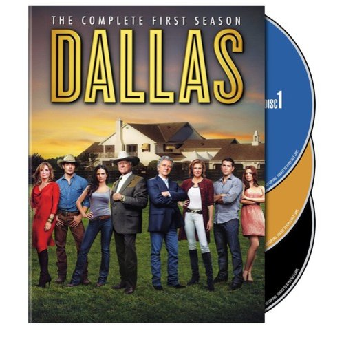 DALLAS (2012) COMPLETE 1ST SEASON (DVD/3 DISC/ENG SDH-SP-FR SUB)