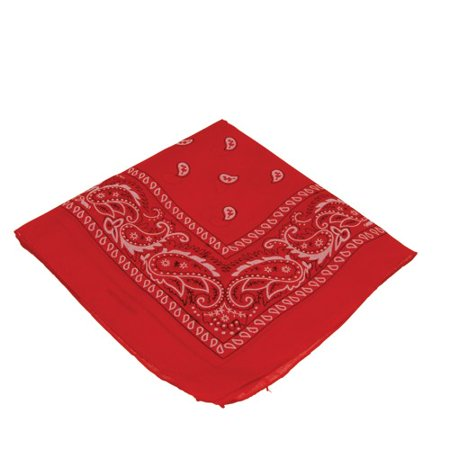 Red Bandana Bandanna Gift Costume Accessory](Red Pirate Bandana)