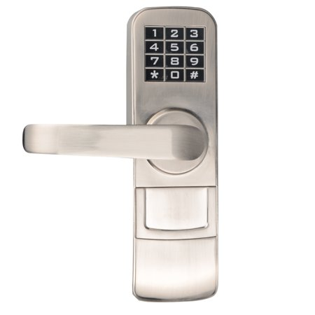 Electronic Keypad Lock - PS4006L Fully Programmable Electronic Mortise Style Door Lock with Keypad - Left Hand Swing Doors