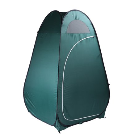 GHP Army Green 180T Pop Up Changing Toilet Camping Privacy Shelter Bathroom  Tent