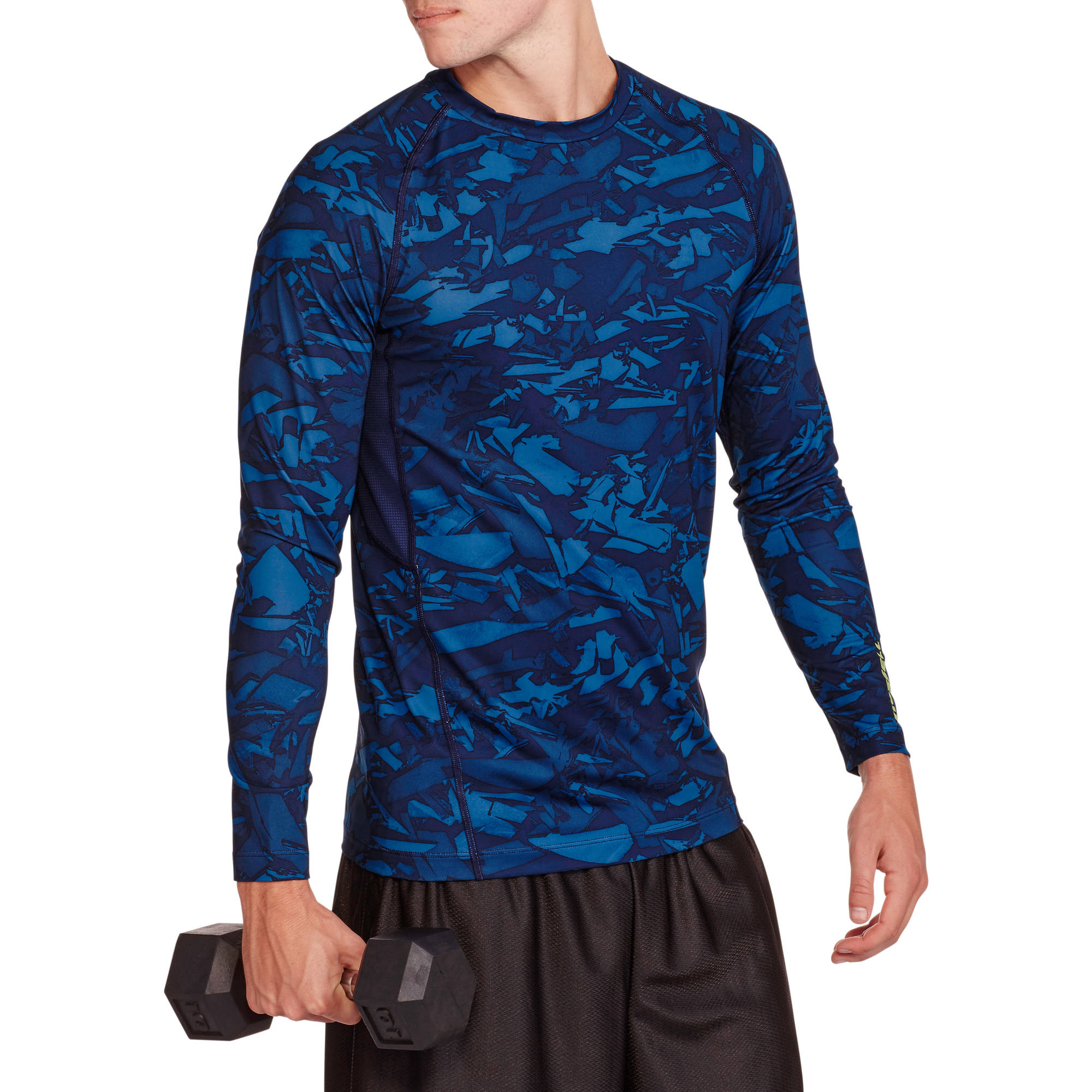 Russell Men's Printed Fitted Base Layer Tee