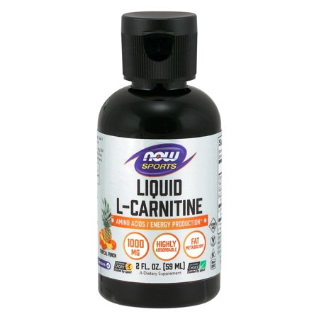 - Liquid L-Carnitine Tropical Punch Now Foods 2 fl oz Liquid