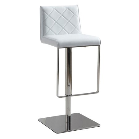 Superb Casabianca Loft Eco Leather With Stainless Steel Adjustable Bar Stool Caraccident5 Cool Chair Designs And Ideas Caraccident5Info