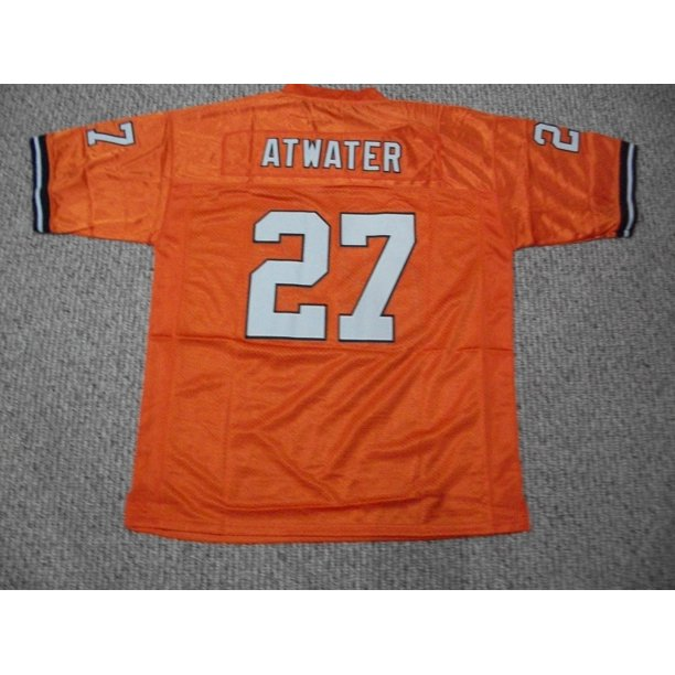 Steve Atwater Jersey #27 Denver Unsigned Custom Stitched Orange Football New No Brands/Logos Sizes S-3XL