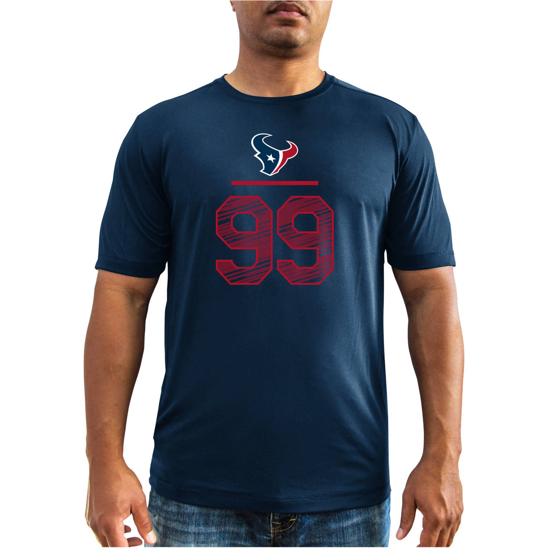 NFL Big Men's Houston Texans JJ Watt 99 Synthetic Player Tee