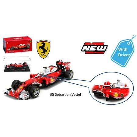 2016 Ferrari Racing Formula 1 SF16-H F1 Sebastian Vettel #5 with figure 1/43 Diecast Model Car by