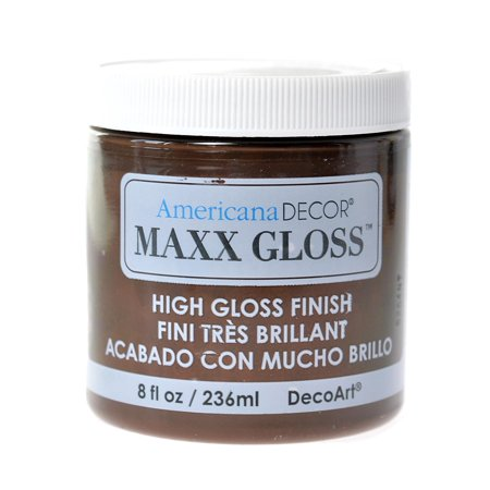 Americana Decor Ma Gloss Paint Light Moles 8 Oz Pack Of 3