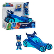 PJ Masks Catboy & Cat-Car, Articulated Action Figure and Vehicle, Blue