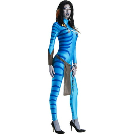 Avatar Neytiri Adult Halloween Costume](Plus Size Avatar Costume)
