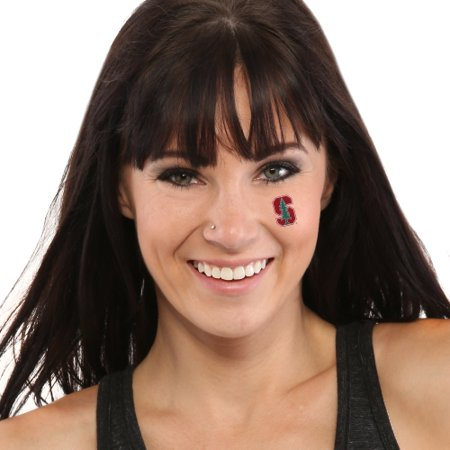 Stanford Cardinal 8-Piece Value Pack Waterless Face Tattoos - No Size](Cardinal Tattoo Ideas)