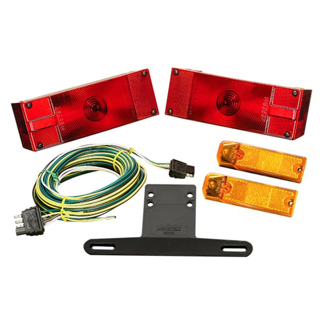 Wesbar 007539 Trailer Light Kit With 25 Ft.  Harness Waterproof Over 80 inch Low Profile