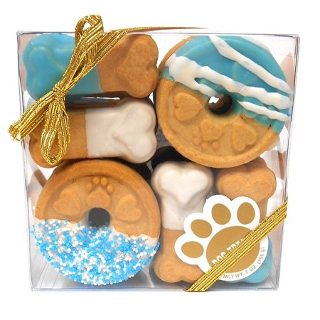 Signature Bakery Sampler (Claudia'S Canine Cuisine Signature Gift Box Of Dog Cookies, 7-Ounce, Blue Buddies )