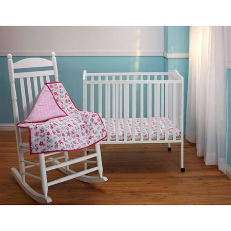 disney minnie s garden 3 crib bedding set walmart 87354