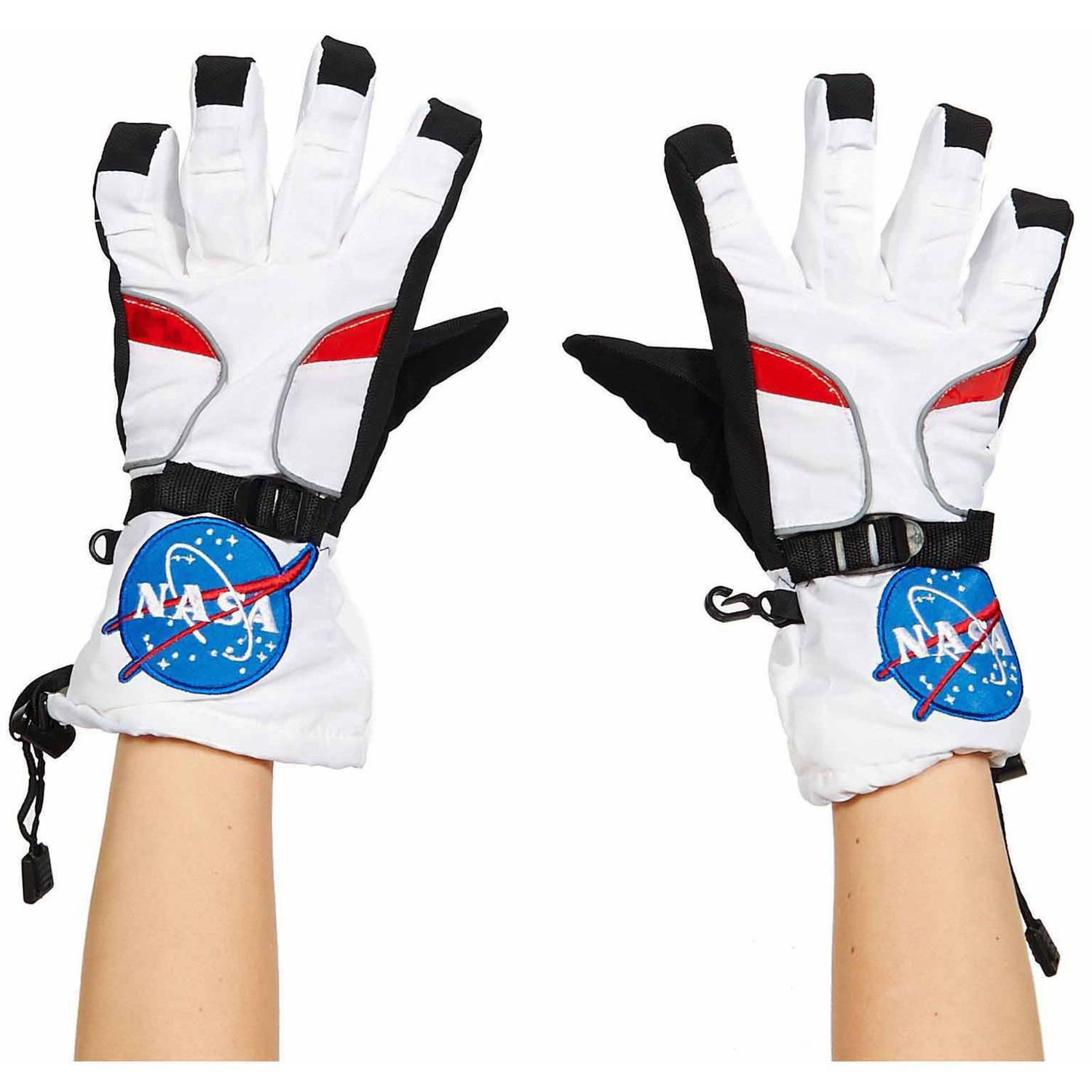 NASA Jr. Astronaut Gloves Boys' Child Halloween Accessory