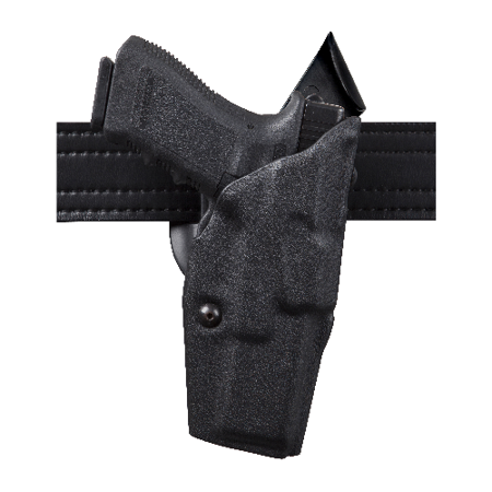 SAFARILAND ALS Mid-Ride Level I Retention Duty Holster Finish: STX Tactical  Black Gun Fit: Glock 34 with ITI M3 (5 32 b