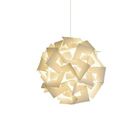 "Akari Lanterns Small Squares 12"" wide , Warm White Glow, Modern ..."