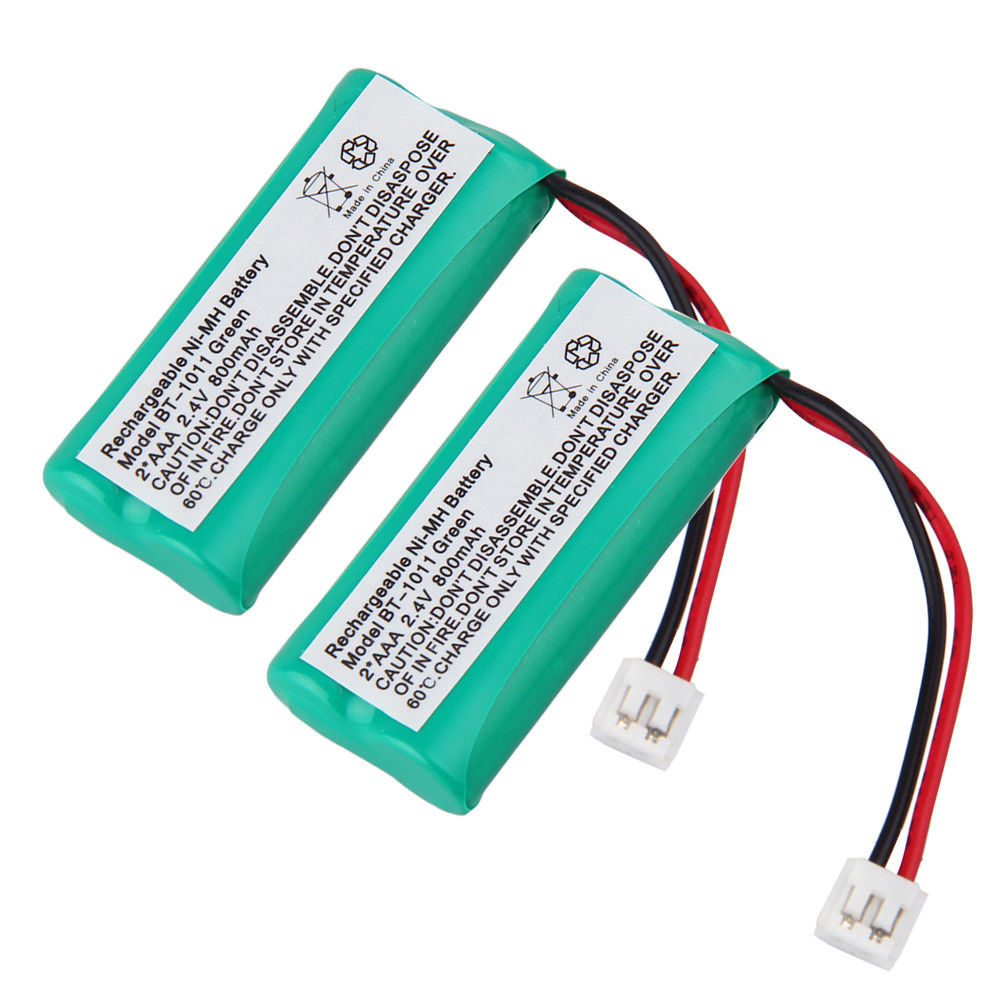 ( 2 Pack) Cordless Telphone Battery for V-TECH VTECH DECT 6.0 CS6219 DS6121 6322