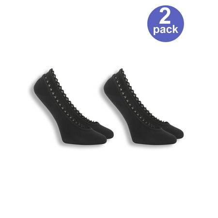 Women's For Her Fashion Fit Ghost Liner Socks 2 - Fit Liners