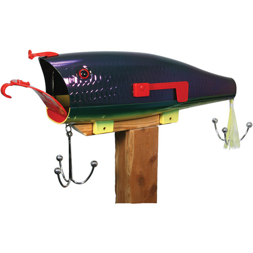 Rivers Edge Products Giant Lure Mailbox, Firetiger by Mailboxes