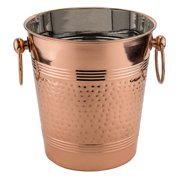 """Fez"" Décor Copper Hammered Wine Cooler"
