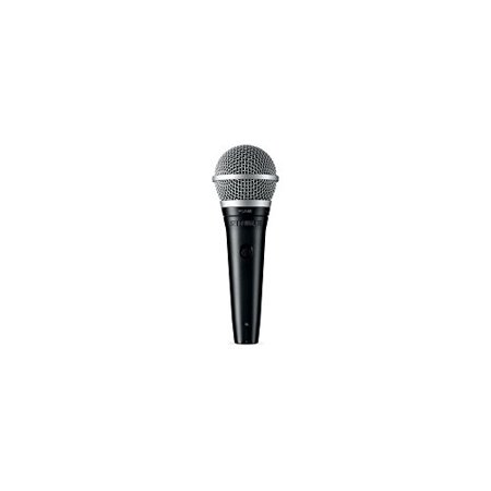 Shure Microphone PGA48 with Liberty Microfiber Cleaning Cloth (XLR-XLR