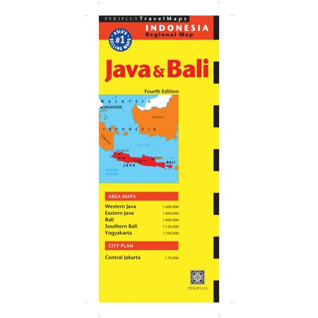 Java   Bali Travel Map Fourth Edition