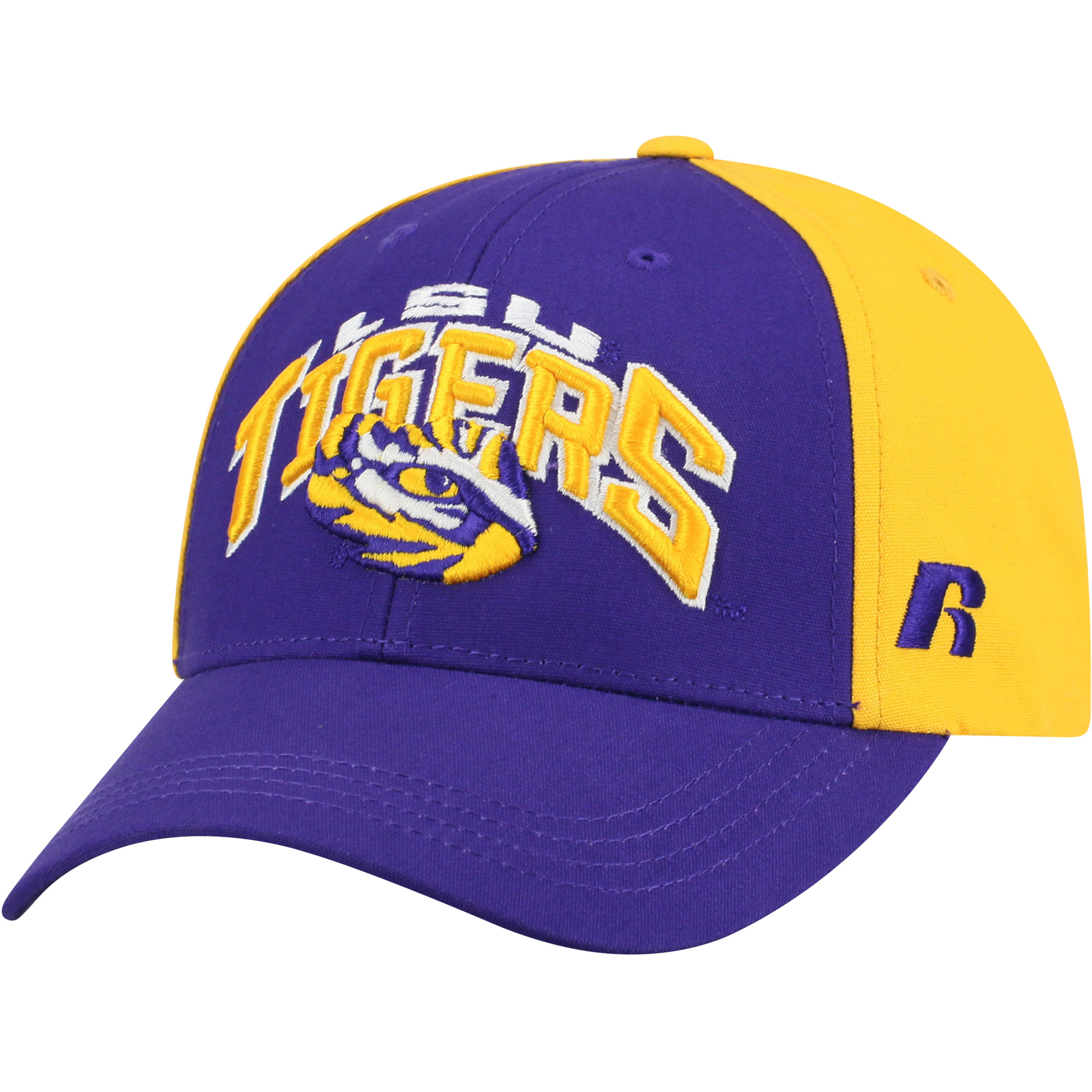 Men's Russell Purple/Gold LSU Tigers Tastic Adjustable Hat - OSFA