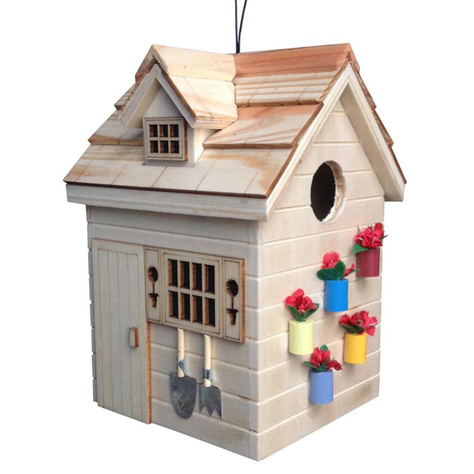 Home Bazaar Potting Shed Birdhouse by Bird Houses