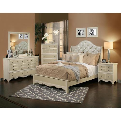 Sandberg Furniture Marilyn 4-Piece Bedroom Set Sandberg Furniture Marilyn Queen 4-Piece Set by Overstock