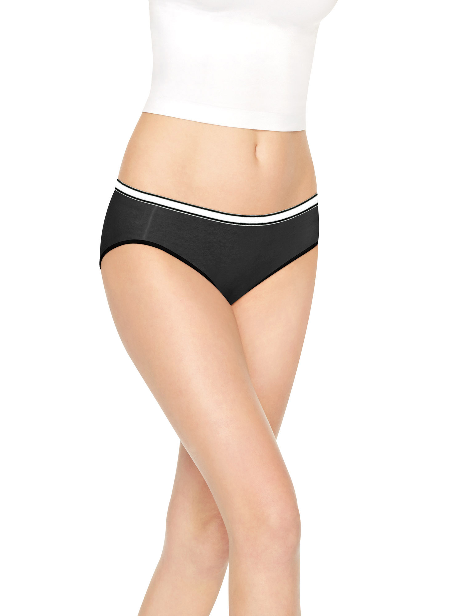Women's Cool Comfort Cotton Stretch Hipster Panties - 8 Pack