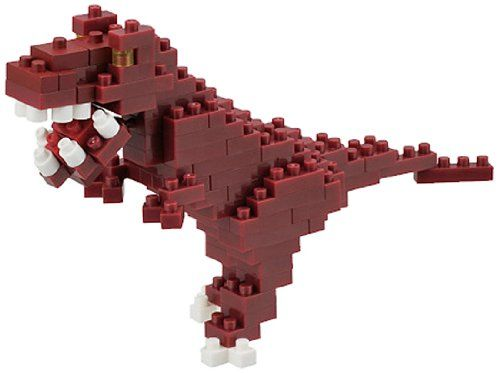 Tyrannosaurus Mini Building Set by Nanoblock (NBC111) by nanoblock