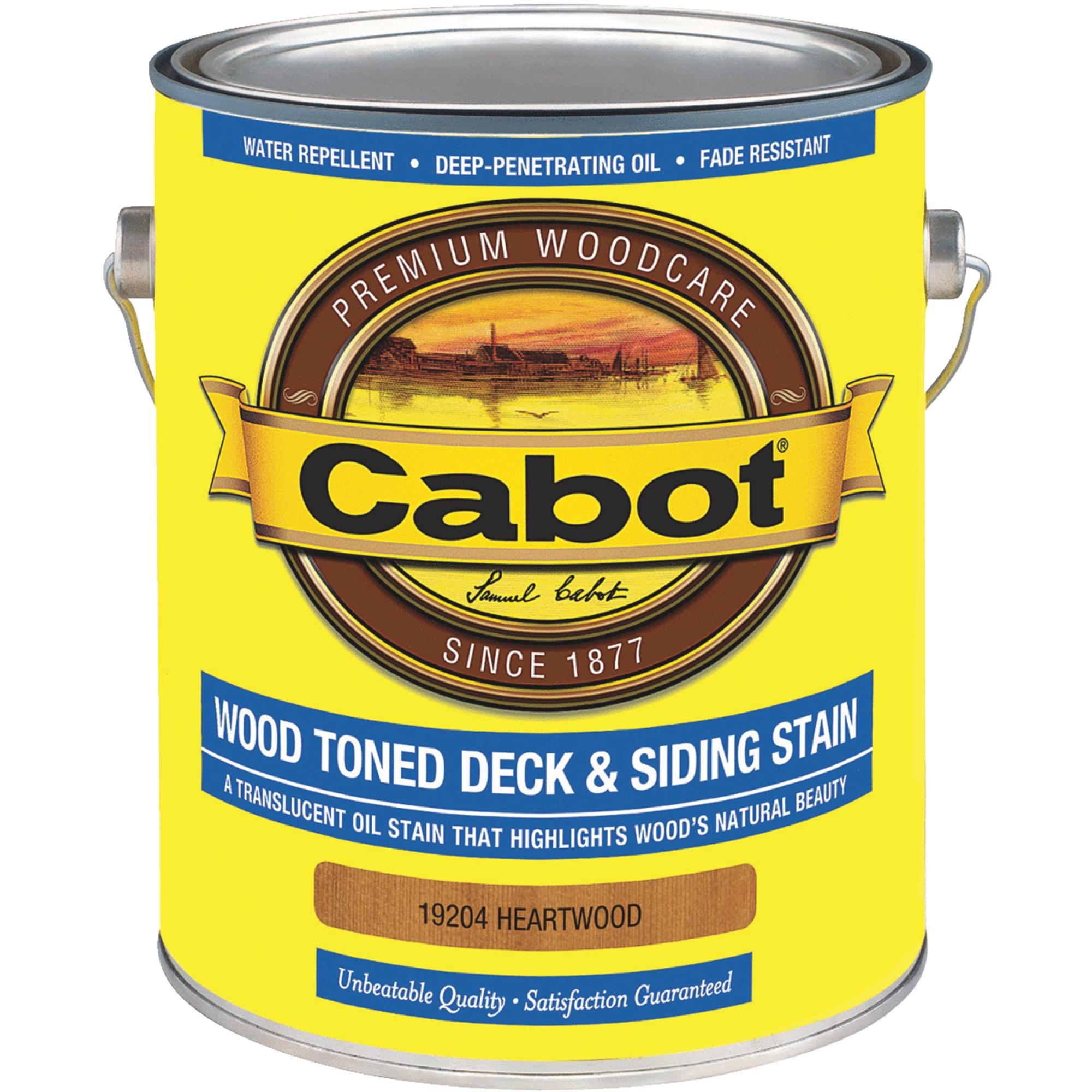 Cabot VOC Wood Toned Deck & Siding Exterior Stain