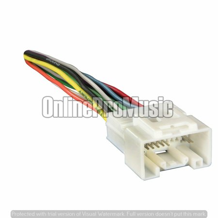 Mitsubishi Eclipse Wiring Harness (Metra 70-7005, DWH-614, A614-7005 MI04B, Radio Wiring Harness for 07 Mitsubishi)