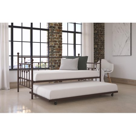 DHP Manila Twin Daybed with Trundle, Multiple Colors
