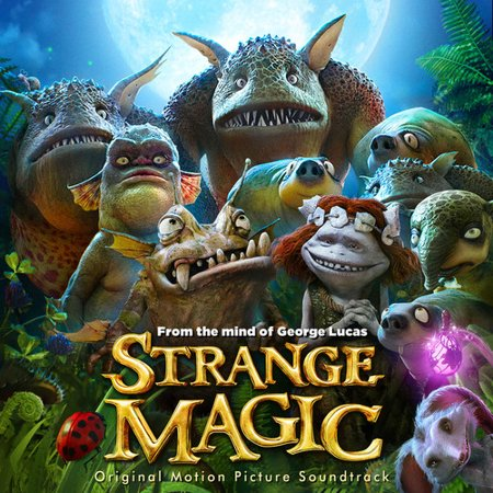 Strange Magic Soundtrack (CD) - Halloween 8 Resurrection Soundtrack