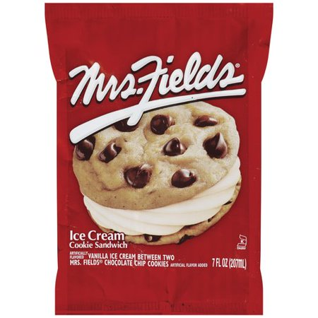 Breyers Mrs Fields Ice Cream Cookie Sandwich 7 Oz