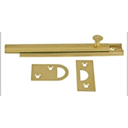 "60885 3"" Surface Bolt Solid Brass"