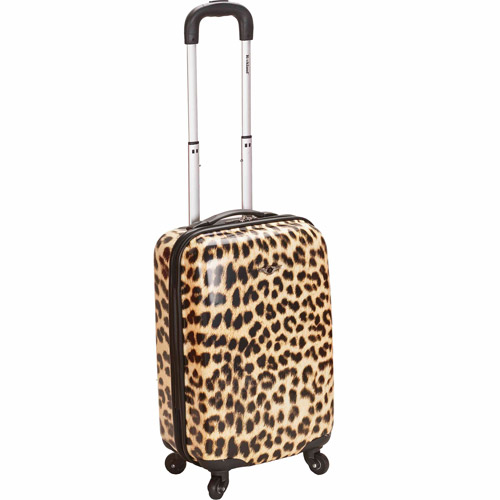 """Rockland Luggage 20"""" Hard Sided Spinner Carry On Luggage F191"""