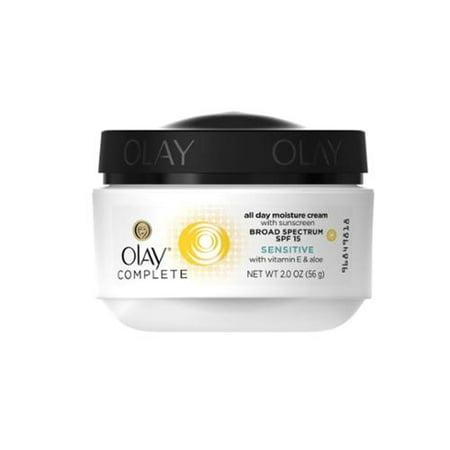 Olay Complete All Day UV Crème hydratante SPF 15, peau sensible (2 oz pack de 6)